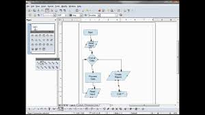 Libreoffice Draw 03 A Simple Flowchart