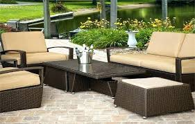 patio synthetic wicker patio furniture outdoor tn sets resin res