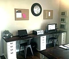home office ideas for two. Double Desk Ideas Home Office The Best Two Person On 2 Good Gaming Chair Be . Desks Creative Kids Throughout For