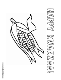 Small Picture Free Coloring Pages Kwanzaa