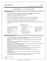 Software Project Manager Resume Sample Simple Software Project Manager Resume Alluring Project Manager 2