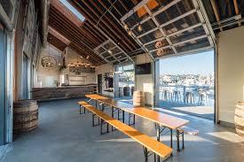 glass overhead doors for restaurants and bars