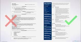 Sample Resume Format Jonahfeingold Com Part 16