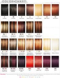 Color Design Hair Colour Chart Wonderful Ion Red Hair Color Chart With Image Of Hair Color