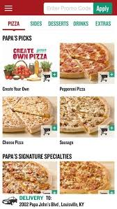 Papa Johns Size Chart Papa John Pizza Sizes Image Mag Pertaining To Papa John