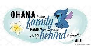 Ohana Means Family Quote Interesting Disney Quote 48 Disney Amino