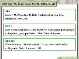 Mla Website Citation Example Acepeople Co