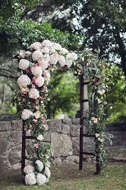stunning wedding arch