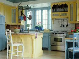 Yellow And Blue Kitchen Exceptional Kitchen Paint Colors With White Cabinets Tags Blue