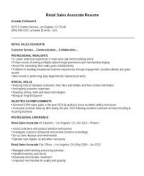 Sales Resume Template Extraordinary Foot Locker Resume Sample Resume Resume For Retail Clothing Manager