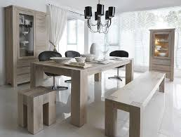 Modern Wood Dining Room Table  Thejotsnet - Solid wood dining room tables