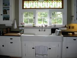Garden Web Kitchens Kitchen Roman Shades With Glass Window And Farm Sinks For