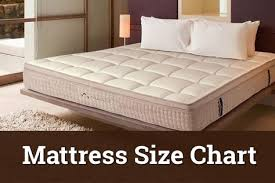 There Are Different Size Chart Of A Mattress Are Referred