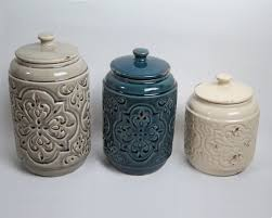 drewderosedesigns rustic quilted 3 piece kitchen canister set regarding rustic kitchen canister sets intended for the