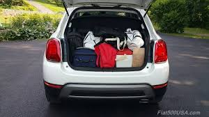 fiat interior trunk. 2016 fiat 500x trunk interior