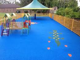 fair playground outdoor flooring or other floor decor ideas dining table