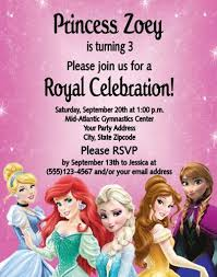 elsa birthday invitations artfire markets