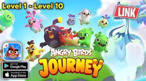 Angry Birds Journey (Android, iOS) Gameplay Walkthrough Level 1 - 10 -  YouTube