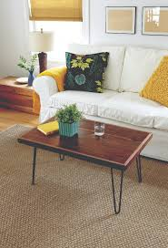 Living Room Table How To Build A Hairpin Leg Coffee Table This Old House