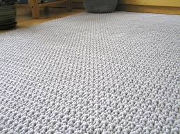 How To Knit A Rug Cotton Rope Rug Roselawnlutheran