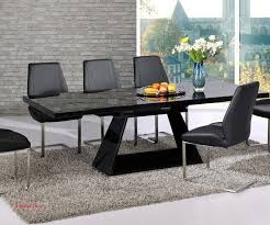 small black glass extending dining table elegant black gloss dining table and 6 chairs extendable black