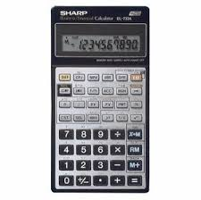 Financial Calculator Sharp El 733a Financial Calculator
