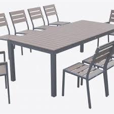Ensemble Table Et Chaise Exterieur Table Et Chaise De Jardin Metal ...