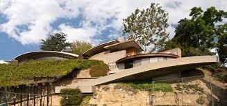 Beautiful Famous Architecture Houses John Lautner Silvertop House Los Angeles Inside Impressive Ideas