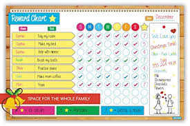Color Behavior Chart Printable 2018 Magnetic Reward And Chore Chart Flexible Dry Erase