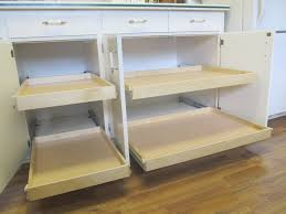 rolling shelves for kitchen cabinets diy cabinet pull out shelves