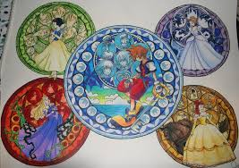 Small Picture Kingdom Hearts Stained Glass by KHArt08 on DeviantArt