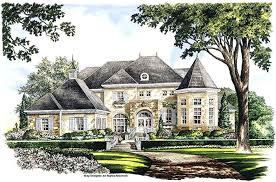 M The French Country House Architectural Features Of  Plans