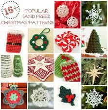 Free Christmas Crochet Patterns | www.petalstopicots.com