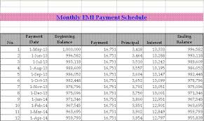 Personal Loan Emi Calculator Excel Citehrblog