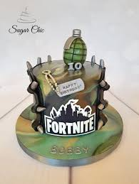 Fortnite Birthday Cake Cake By Sugar Chic Cakesdecor