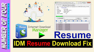 Idm Cannot Resume Downloading The File How To Fix Resume