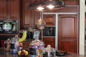 Kitchen Pot Rack Beauty Pot Rack With Lights Home Lighting Insight