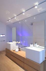 Track lighting in bathroom Wall Track Lighting For Bathroom Ceiling Big Ceiling Fan With Light Tariqalhanaeecom Track Lighting For Bathroom Ceiling Big Ceiling Fan With Light