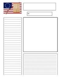 Kids Newspaper Template Colonial Newspaper Template For Kids Template And Paper World