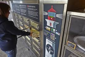Oyster Vending Machine Interesting A New Oyster Vending Machine In France Is Open 4848 WhereTraveler