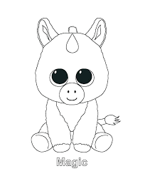 The coloring pages are very good to download since it has many unique characters in the name of a baby unicorn. Adorable Cute Unicorn Coloring Pages Coloring And Drawing