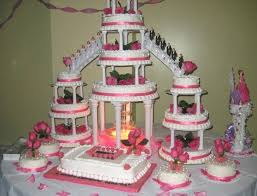 Quinceanera Cakes Pink And Gold Cake Wedding Ideas 2016 Angelacravens
