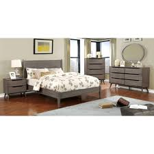 Modern Platform Bedroom Set Mercury Row Mason Mid Century Modern Platform Customizable Bedroom