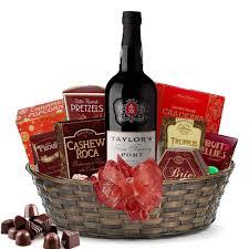 taylor fine tawny port gift basket