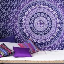 twin ombre bohemian hippie mandala wall tapestry beach bedspread small twin