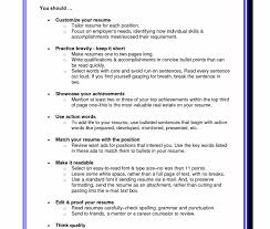 Resume Format Tips Interesting Resume Formattingps Objective Examples Cover Letter Best Advice