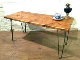coffee table with pipe legs wood s made full size