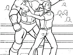 Wwe Coloring Pages Seth Rollins Related Post Coloring Pages For