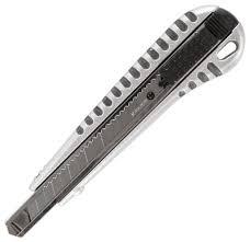 <b>BRAUBERG Нож универсальный Metallic</b> 236971 9 мм — купить ...