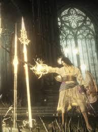 Dark Souls Light Spell Halflight Spear Of The Church Dark Souls Wiki Fandom